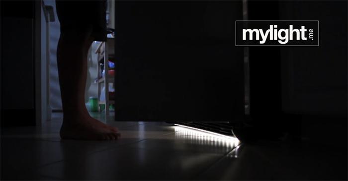 under bed night-light refrigerator