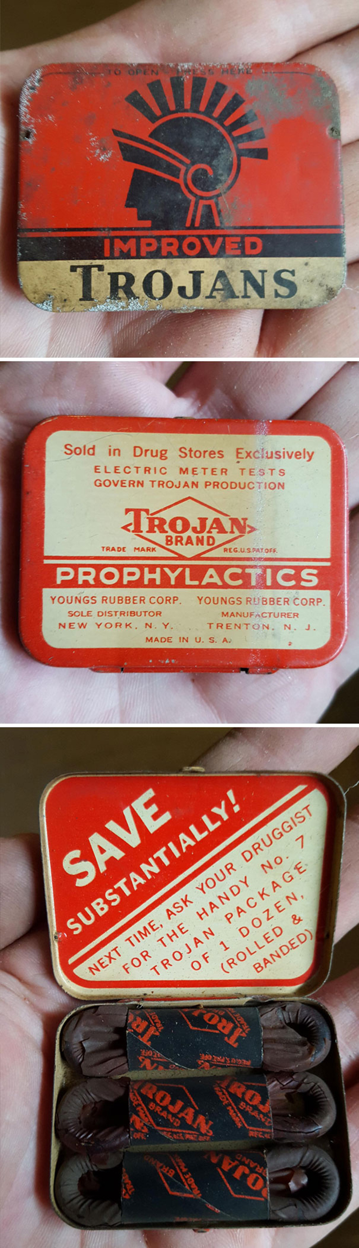 unusual discoveries vintage condoms
