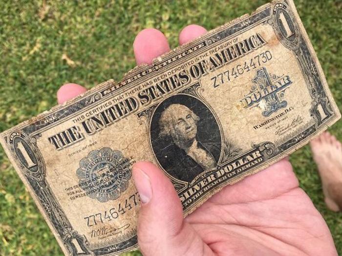 unusual discoveries vintage dollar bill
