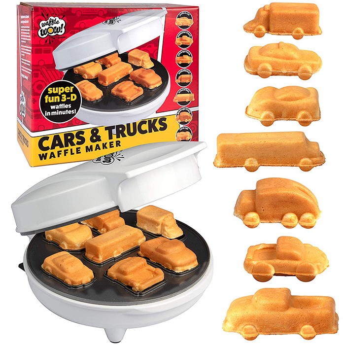 waffle makers cars and trucks