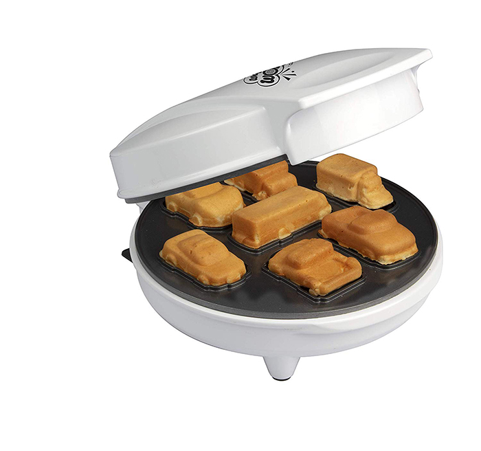 waffle makers mini cars and trucks version