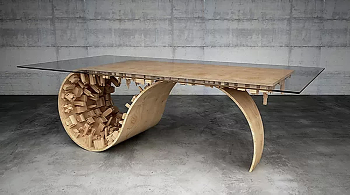 wave city modern style furniture