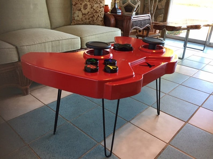 xbox one console inspired furniture red