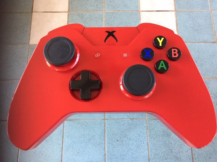 xbox one controller coffee table red