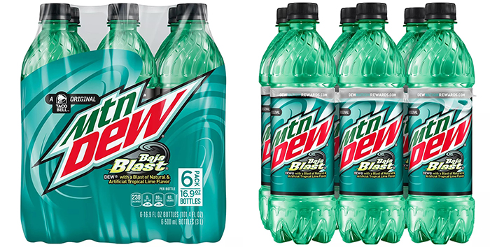 500ml Mountain Dew Baja Blast