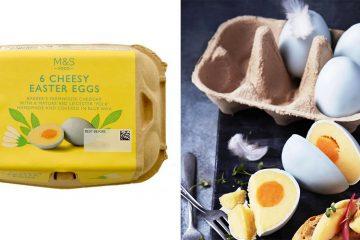 6 cheesy easter eggs