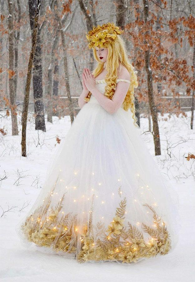 angela as a christmas angel