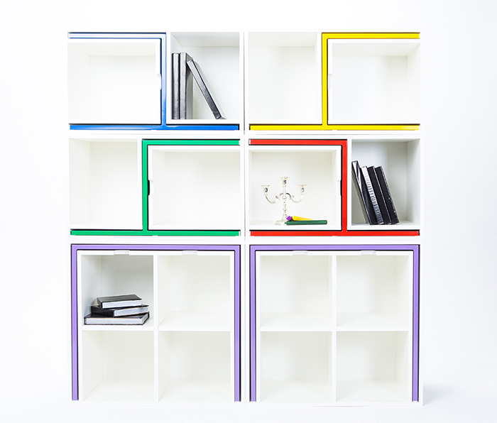 As If From Nowhere Modular Bookcase