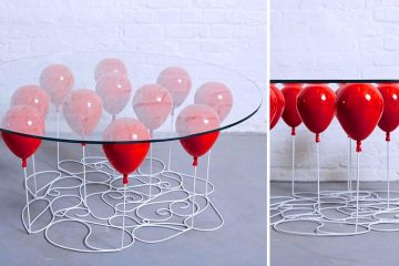 Balloon Glass table