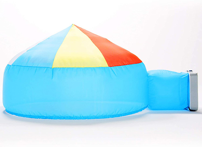 Beach Ball Blue Air Fort