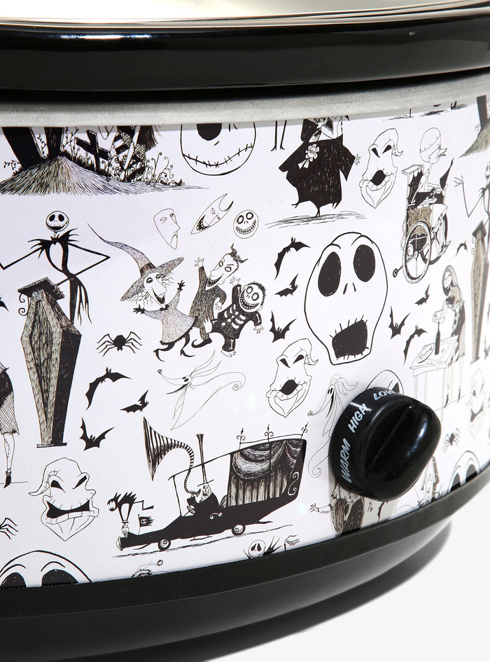 BoxLunch Black Nightmare Before Christmas Slow Cooker Design