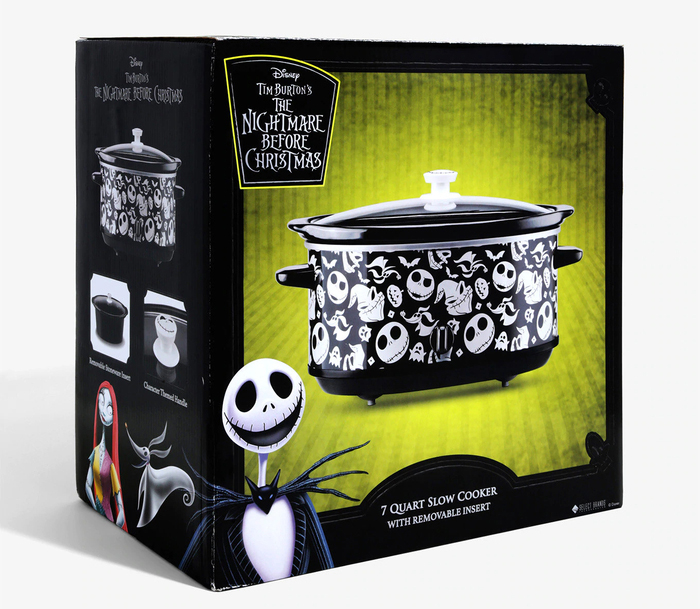 BoxLunch Black Nightmare Before Christmas Slow Cooker Packaging