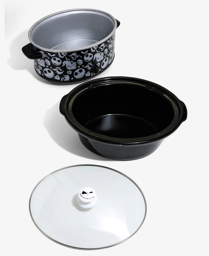 BoxLunch Black Nightmare Before Christmas Slow Cooker Set