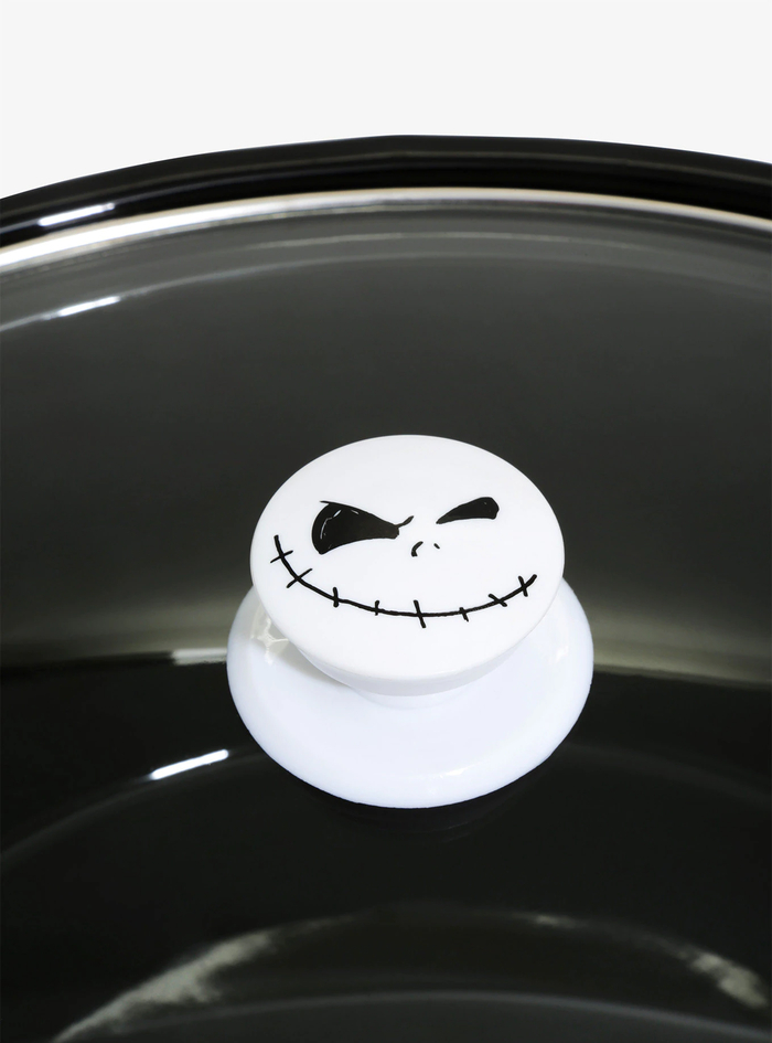 BoxLunch Black Pot Jack Skellington Lid Handle