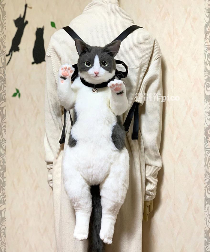 Cat-shaped Backpack