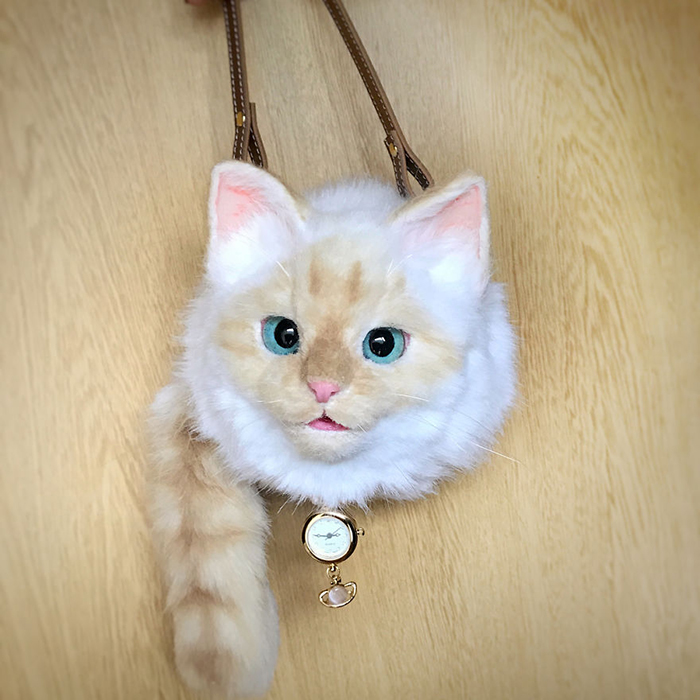 Cat-shaped Sling Bag