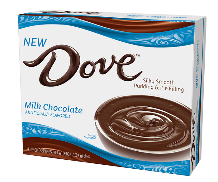 Dove Milk Chocolate Silky Smooth Pudding and Pie Filling