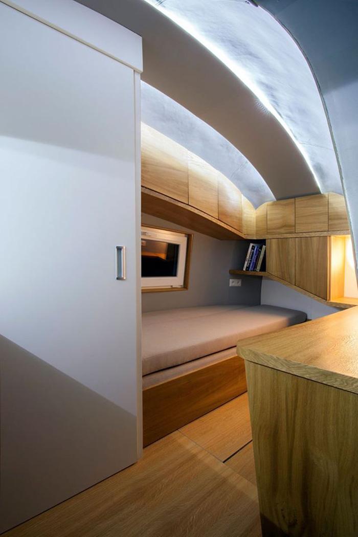Ecocapsule Bedroom