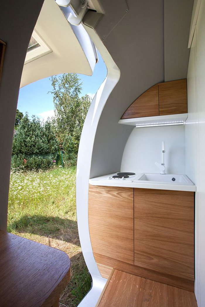 Ecocapsule Kitchen