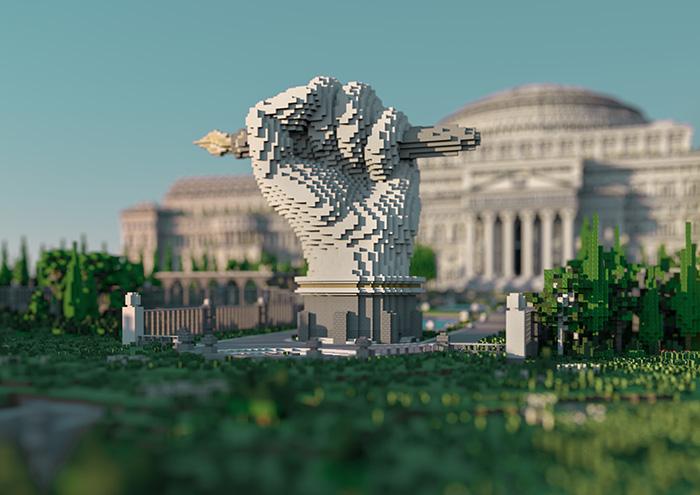 Fist Statue