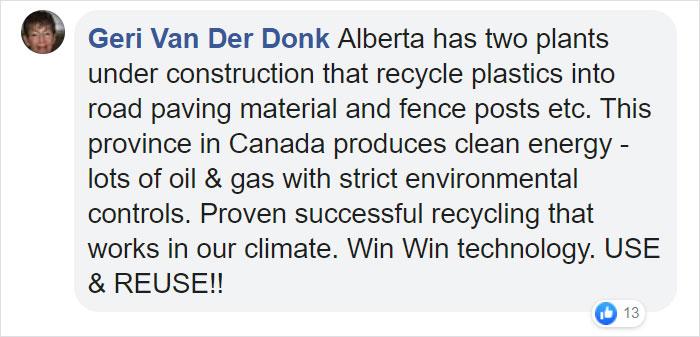 Geri Van Der Donk Facebook Comment