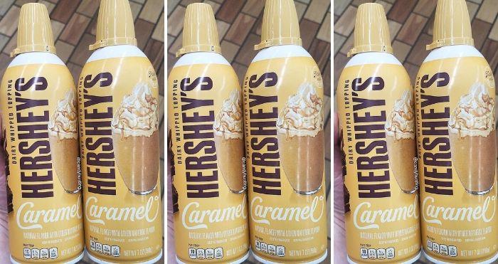 Hershey's Caramel Whipped Cream