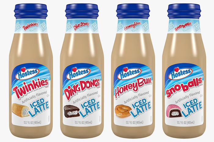 Hostess Iced Latte Variants
