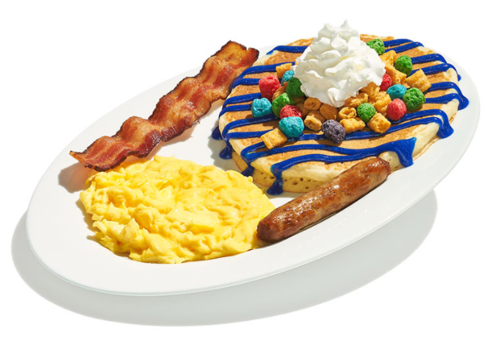 IHOP Berry-tastic Crunch Kids Combo