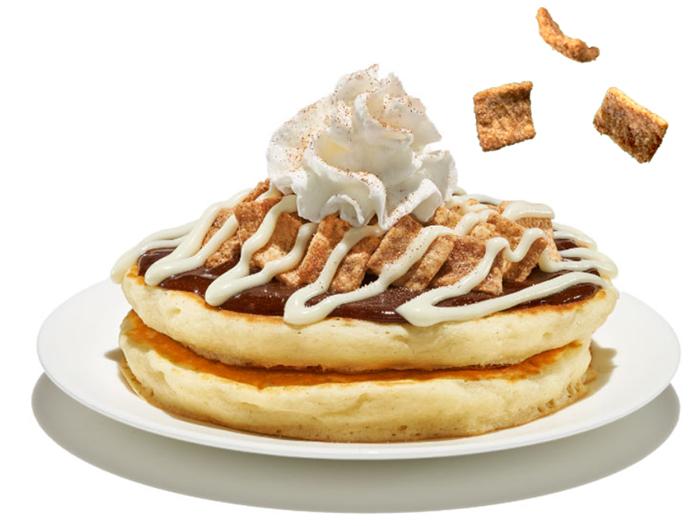 IHOP Cereal Pancake Cinnamon Toast Crunch
