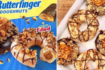 Krispy Kreme Butterfinger Donuts