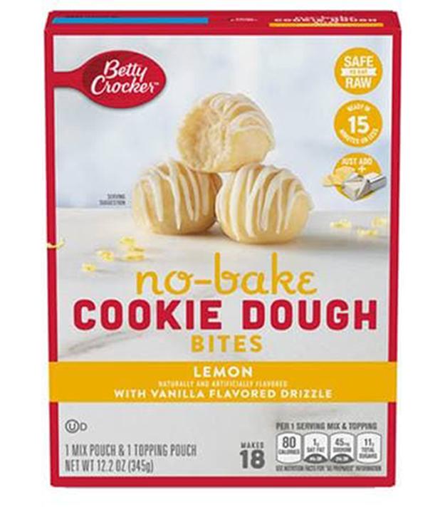 Lemon No-Bake Cookie Dough Bites