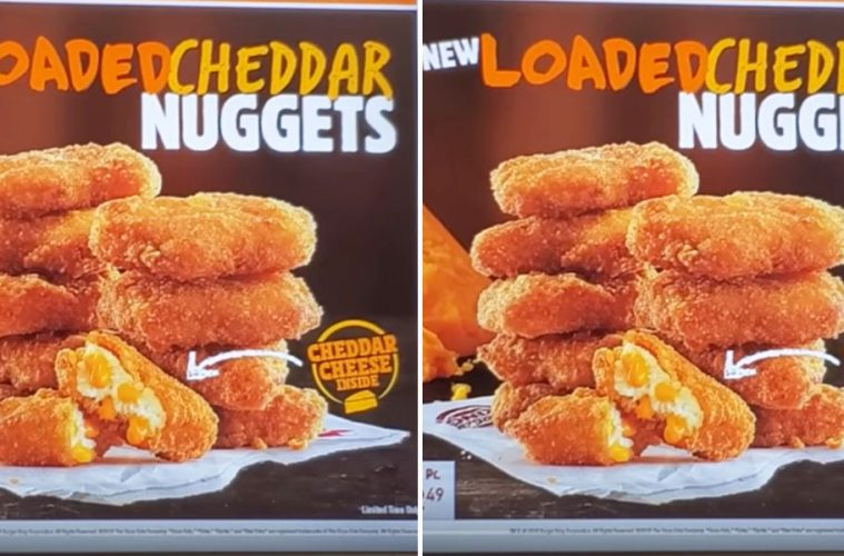 Loaded Chicken nuggets