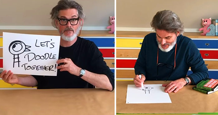 Mo Willems doodle