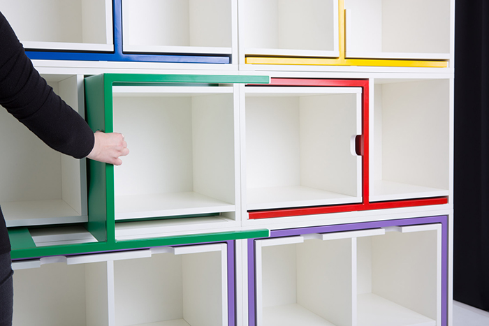 Modular Shelf Compartments