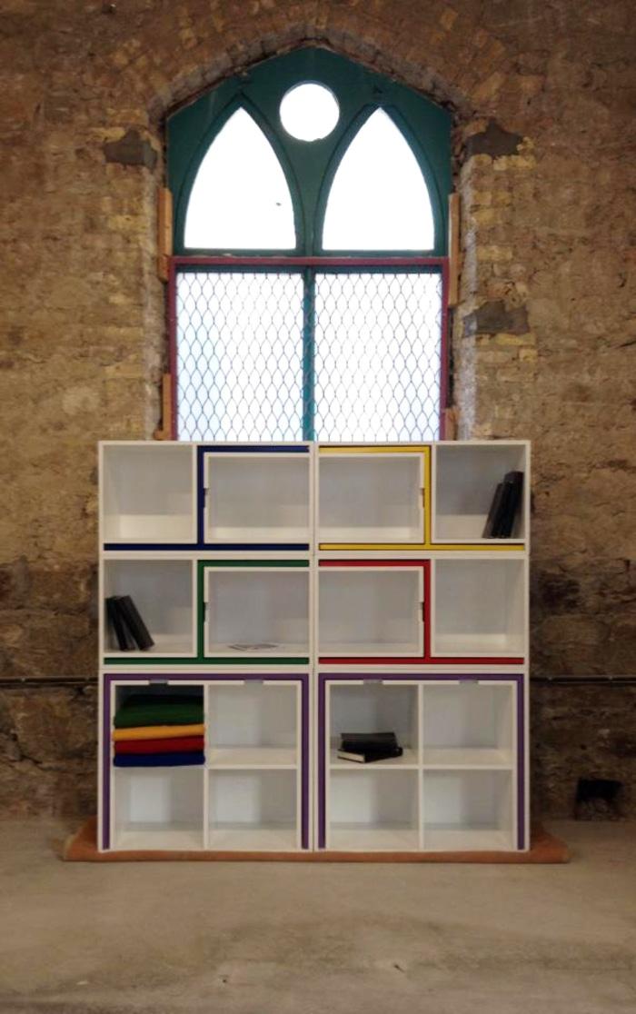 Modular Shelf Square Configuration