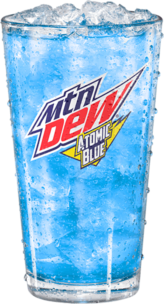 Mountain Dew Atomic Blue 12-ounce Cup
