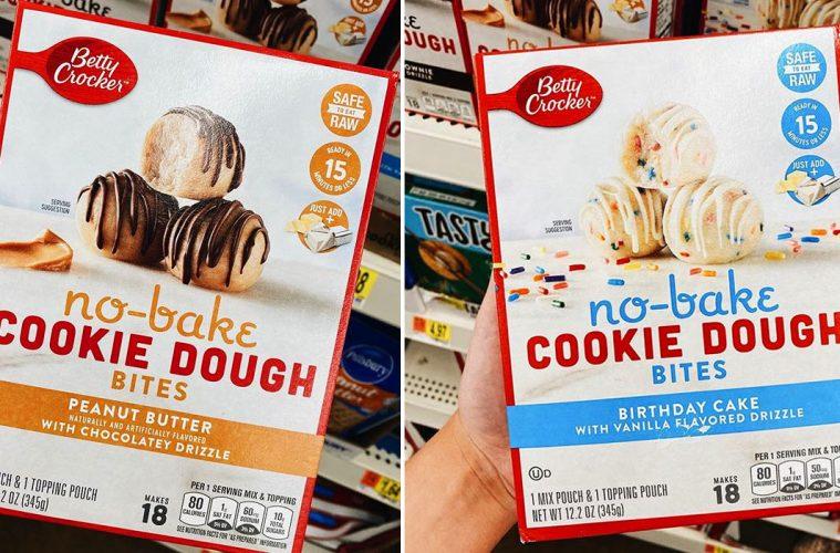 No-Bake Cookie Dough bites