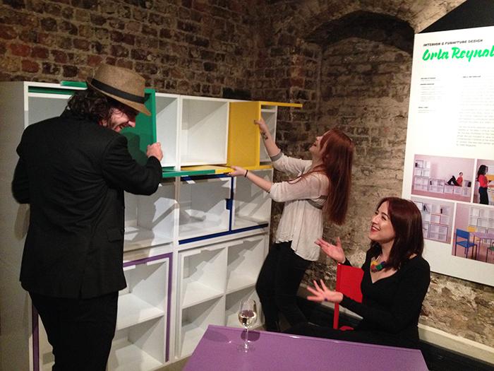 Orla Reynolds Modular Shelf Exhibit