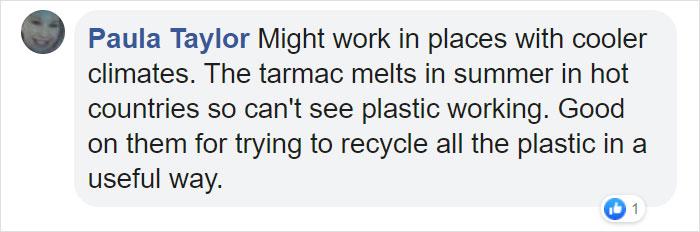 Paula Taylor Facebook Comment
