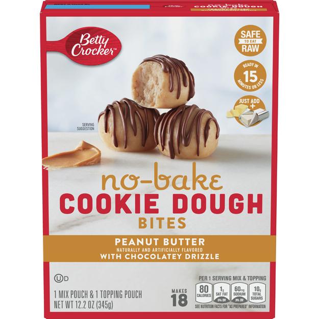 Peanut Butter No-Bake Cookie Dough Bites