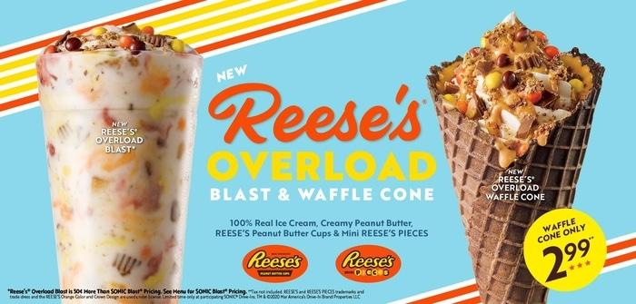 SONIC Drive-In Reese's Ice Cream Treats