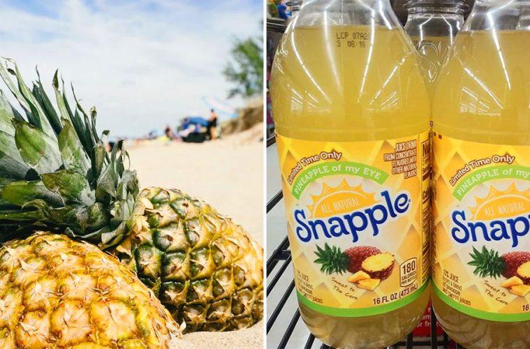 Snapple Pineapple Flavor