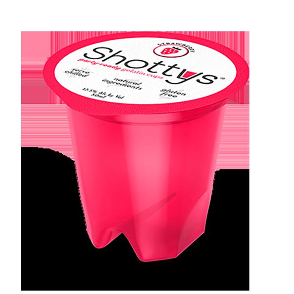 Strawberry Vodka Jell-O Shots