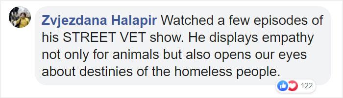 Zvjezdana Halapir Facebook Comment