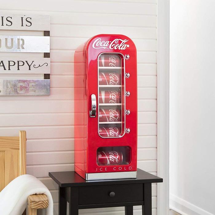 coca-cola mini vending machine