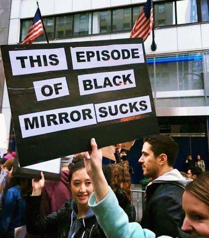 coronavirus jokes black mirror sucks