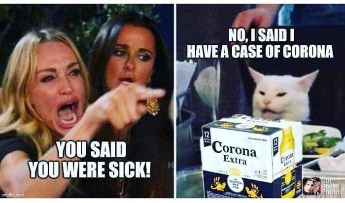 coronavirus jokes case of corona