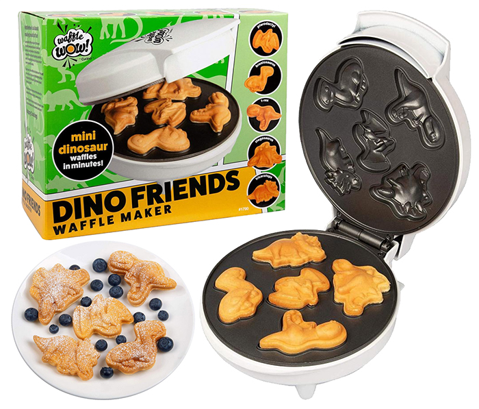 dino friends waffle makers
