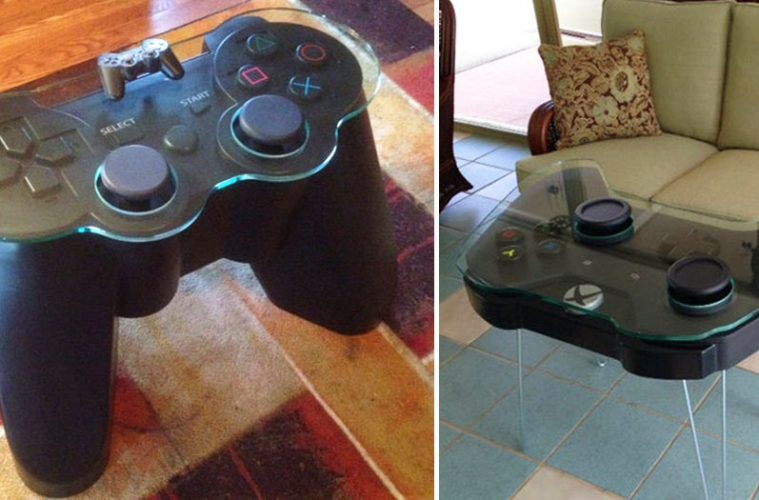 gaming controller table
