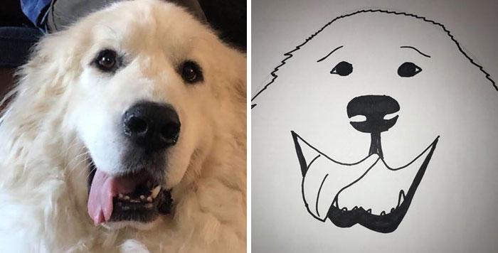 goofy glob bad pet drawings